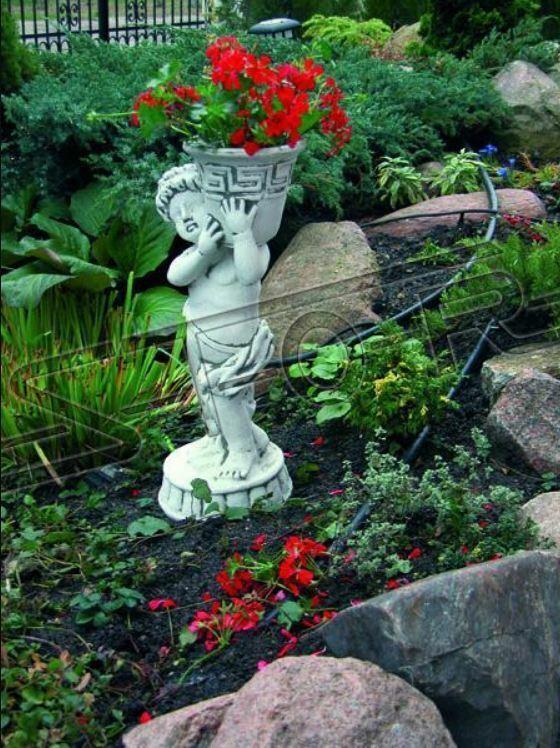 Blaumenkübel Pflanz Kübel Dekoration Figur Blaumentöpfe Garten Vasen 410