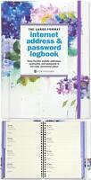 Internet Address & Password Logbook Password Organizer 144 Pages Large Format