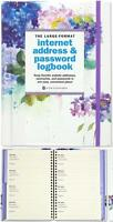 Internet Address & Password Logbook Password Organizer 144 Pages Large Format