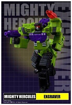 NEW TFC Toy Transformers Hercules Devastator Structor Figure In Stock