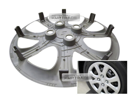 "OEM Genuine Parts 14/"" Wheel Hub Cap Cover 1P For HYUNDAI 2012-17 Verna Accent"