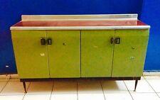 Mobile credenza cucina industriale ferro design anni '50 vintage modernariato