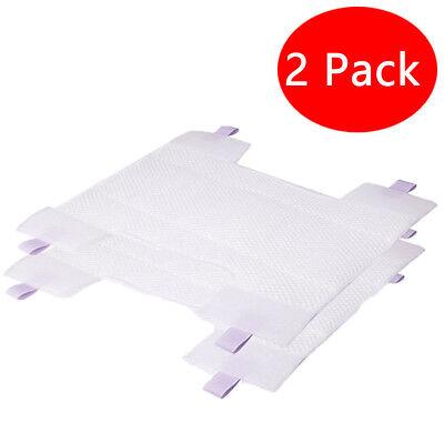 2x Replacement Microfiber Cloth Pads Mop for Shark Rocket HV300 Series Vacuum