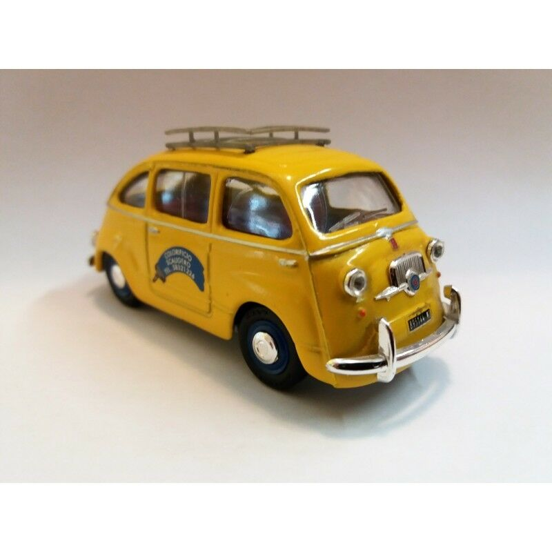 GIOCHER GIOCHER GIOCHER n.1   FIAT 600 MULTIPLA (ColorIFICIO SCALIGERO) SCALA 1 43 MC42686 6f8b3f