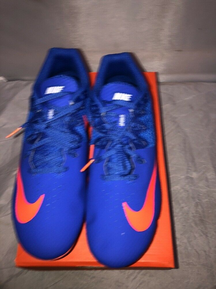 New Nike Zoom Rival S 8 Mens Track & Field Spikes Sprint Racing Shoes Blue red