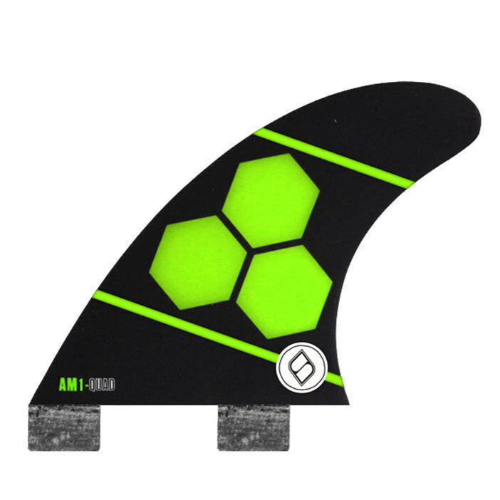 Shapers Fins - AM1 Quad Rears (FCS) - Green - Medium - Surfboard - Surf - New
