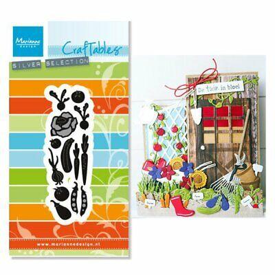 Marianne Design Craftables Cutting Die Punch Die Vegetable Garden CR1393