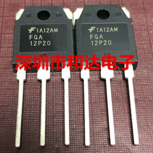 5 x FQA12P20 200V P-Channel MOSFET TO-3P