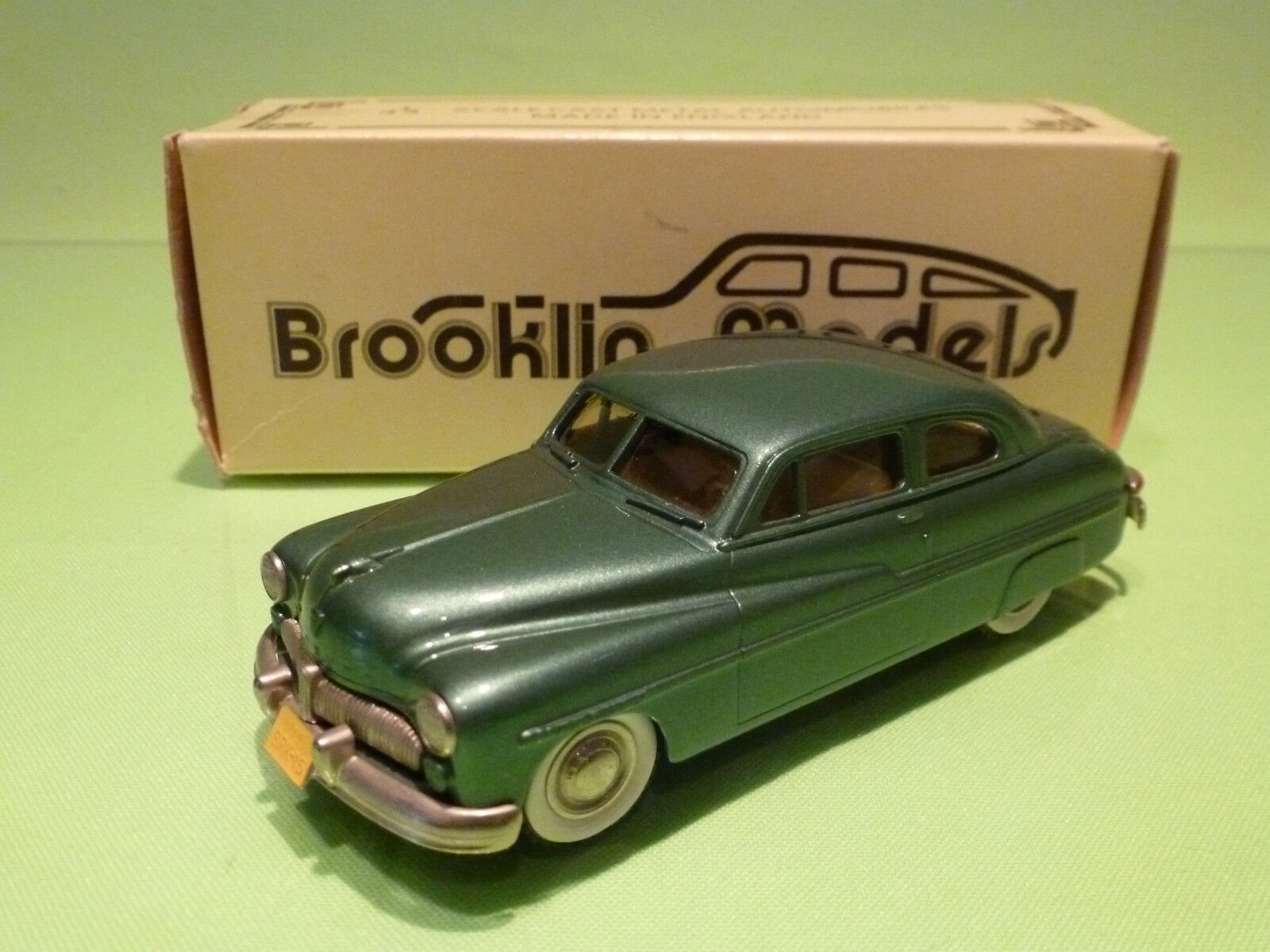 BROOKLIN MODELS BRK 15 MERCURY 2 DOOR COUPE - 1949 - 1 43 - RARE SELTEN - NMIB