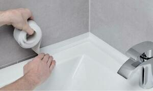 Waterproof-Kitchen-Bathroom-Sealing-Strip-Adhesive-PVC-Tape-Sink-Caulk-Corner-NI