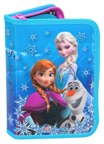 PA70 Disney Frozen Eiskönigin Federtasche Federmappe gefüllt Schüleretui