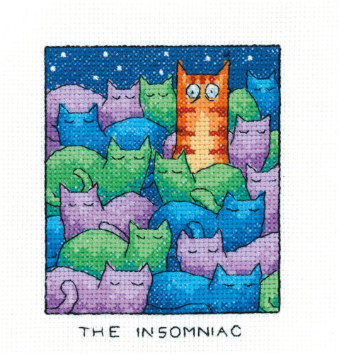The Insomniac Heritage Crafts Simply Heritage Cross Stitch Kit