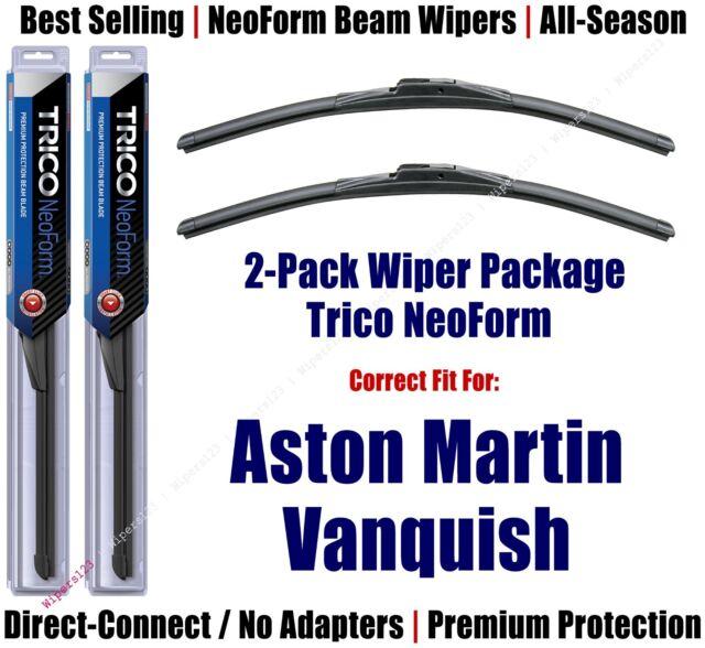 2pk Super-Premium NeoForm Wipers Fit 2006 Aston Martin