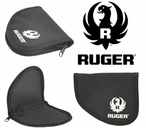 Ruger Shield Gun Smith Rug Single Compact Pistol Case Handgun Range Bag NEW