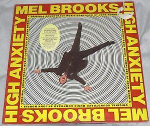 MEL BROOKS High Anxiety OST Greates Hits John Morris SEALED Asylum 5E-501 LP