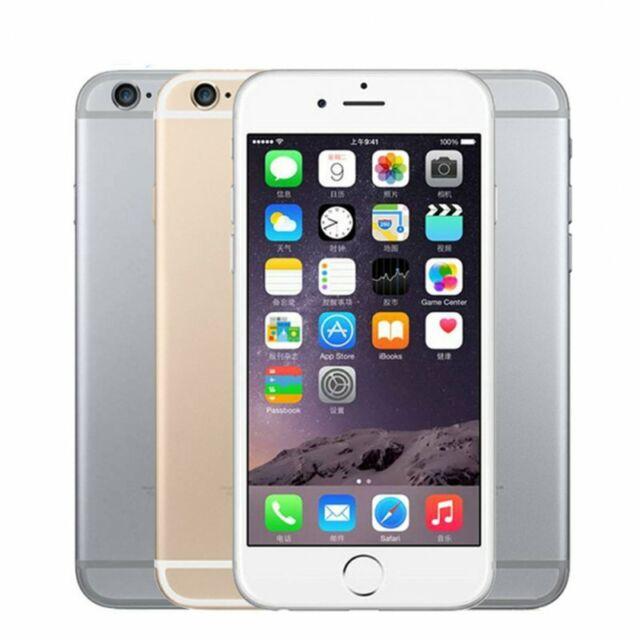 "Original Unlocked IPhone 6 Phone IOS Dual-core LTE 4.7"" 1GB RAM /16/64/128GB ROM"