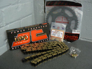 YAMAHA-YZF-R125-CHAIN-AND-SPROCKET-KIT-GOLD-O-RING-HEAVY-DUTY-08-17