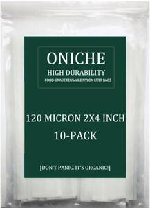 10-Pack-2x4-039-039-in-120-Micron-Oniche-Press-Colophane-Filtres-Colophane-Filtre