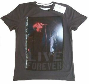shirt Oasis 50 Ikons Rock Star Amplified T Live M Vintage Cool By de Fan Forever w6R6E0q