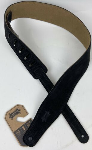Black Levy/'s MS26-BLK Classic Series Strap