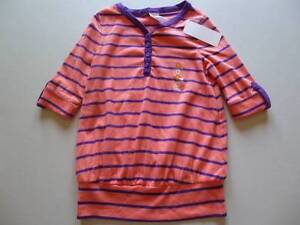 Gymboree Parisian Afternoon Red//White Stripe Shirt Top Cherie Size 4 5 6 7 8 NEW