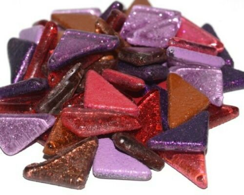 1kg Various Colours Soft Glass Puzzles Mosaic tiles for arts and crafts