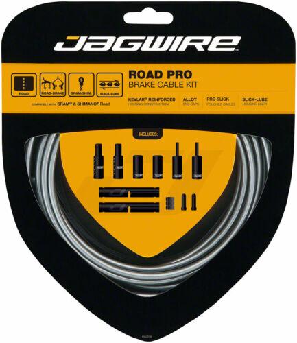Black Gray Green White Blue Yellow Celeste Stealth Jagwire Pro Road Brake Kit