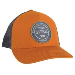 Sitka-Seal-Five-Panel-Patch-Trucker-Rust