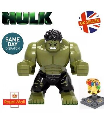Avengers End Game Hulk Quantum Realm Mini Figure Gauntlet Marvel UK Seller