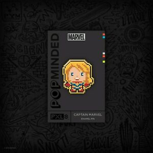 SDCC 2019 PXL 8 Captain Marvel Pin Hallmark