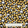 Farm Fabric - Small Chicks & Egg Toss on Black - Timeless Treasures YARD