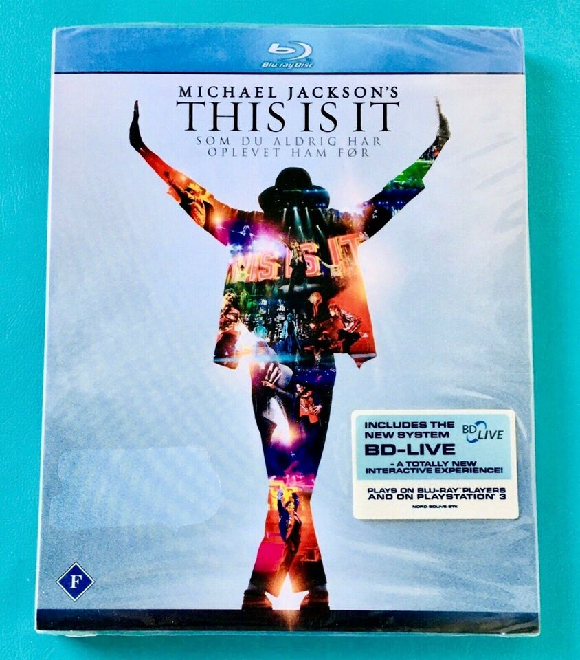 Michael Jackson: This is it, Blu-ray, musical/dans