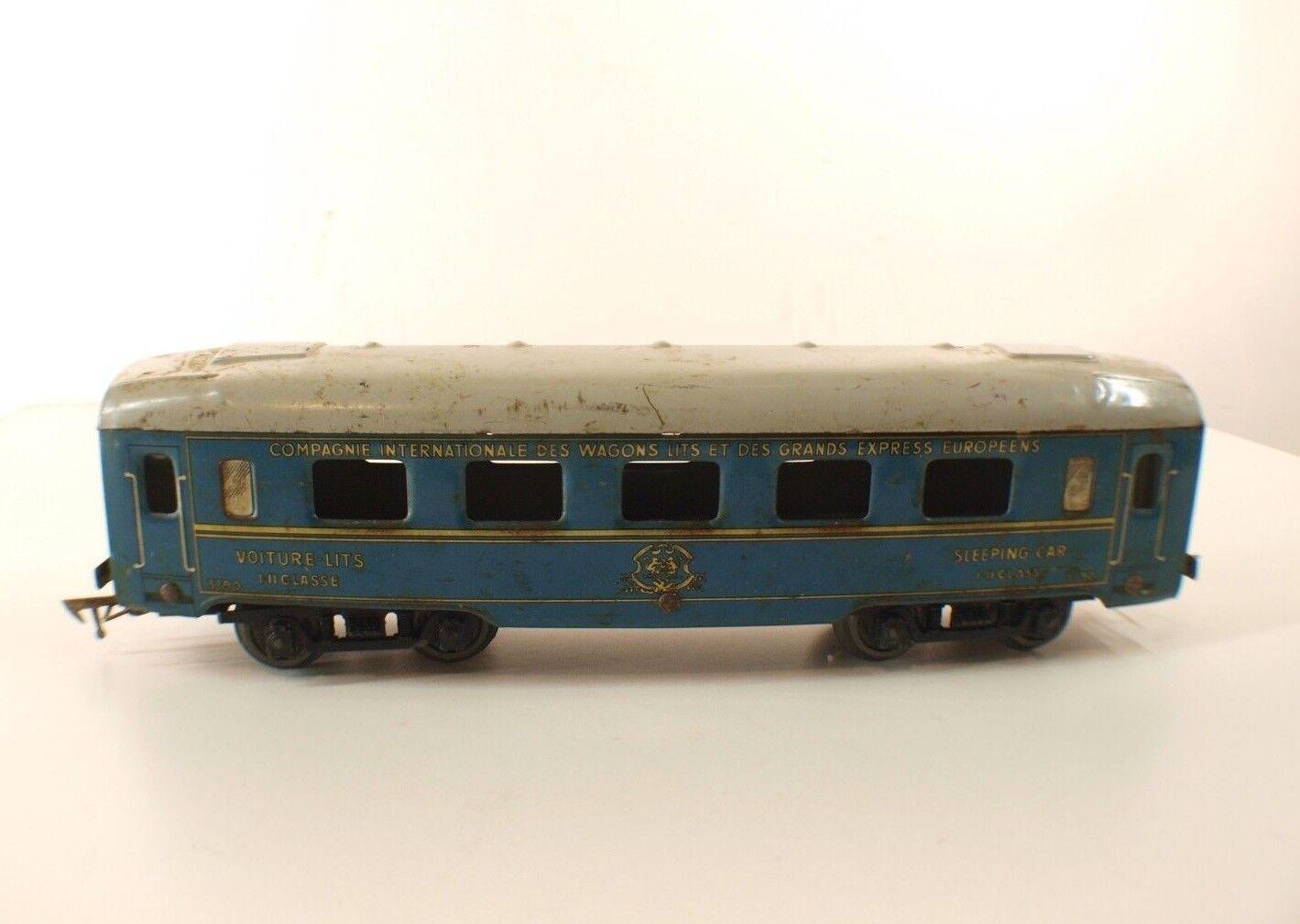 Jep F Wagon 3790 Coche Cama Compañía Vagones y Grandes Express Europea O