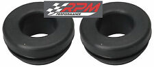 """SET OF 2 ALUMINUM valve cover PCV BREATHER rubber grommet 3/4"""" ID & 1.25"""" OD A97"""