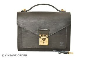 Louis-Vuitton-Black-Epi-Monceau-28-Hand-Bag-Briefcase-M52122-YG01115