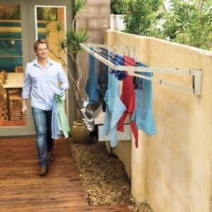 Hills-Supa-Fold-Compact-Wall-Mounted-Folding-Clothes-Washing-Line