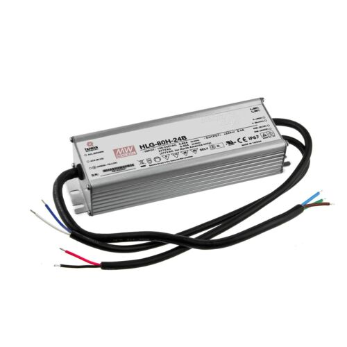LED POWER SUPPLY DIMMABLE 0-10v 24v 80w mean well hlg-80h-24b Switching Power Supply netzgerä