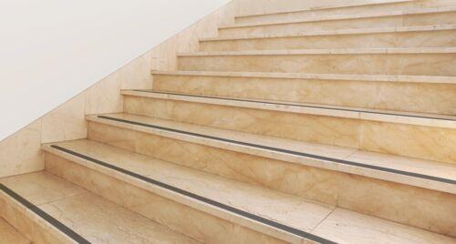 Antirutschstreifen  Antirutsch  Treppe Stufen 50 mm Rolle 46 schwarz 18 lfm