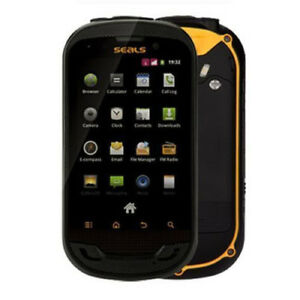 BNIB-Seals-TS3-Dual-SIM-IP68-Rugged-Tough-Yellow-Black-Factory-Unlocked-3G-OEM