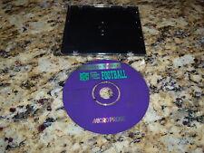 Microprose Player's Choice Football (PC) Game Windows