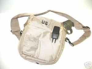 NEW-US-ARMY-2qt-CANTEEN-INSULATED-TAN-POUCH-HIKING-CAMP-SURVIVAL