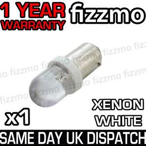LED 233 T4W BA9S HID XENON WHITE SIDE LIGHT BAYONET CAP UK 1 YR WARRANTY