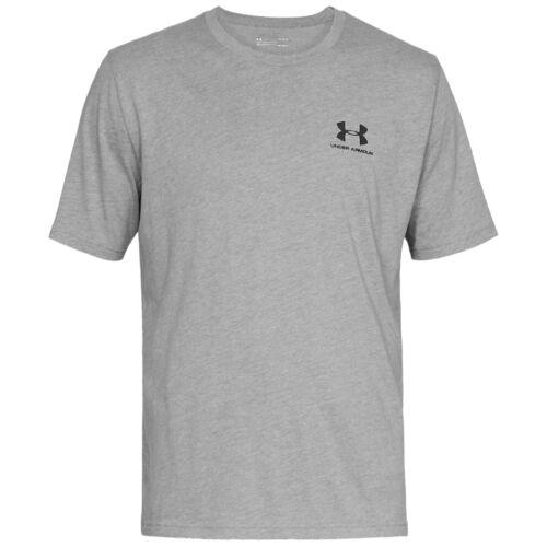 Under Armour Sportstyle Left Chest Short Sleeve Shirt T-Shirt steel 1326799-036