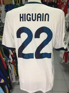 000404821e0 Shirt Real Madrid 2012 13 (L) 22 Higuain Adidas Camiseta Shirt ...