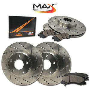 16-17-18-Chevrolet-Cruze-Slotted-Drilled-Rotor-w-Ceramic-Pads-F-R