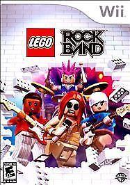 Lego Rock Band Nintendo Wii 2009 For Sale Online Ebay