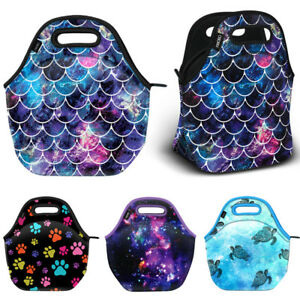 Thermal-Insulated-Neoprene-Tote-Lunch-Bag-Handbag-for-School-Work-Picnic-Camping