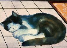 POSTCARD CARTE POSTALE ILLUSTRATEUR RENATE KOBLINGER N° LA 291 CAT / CHAT