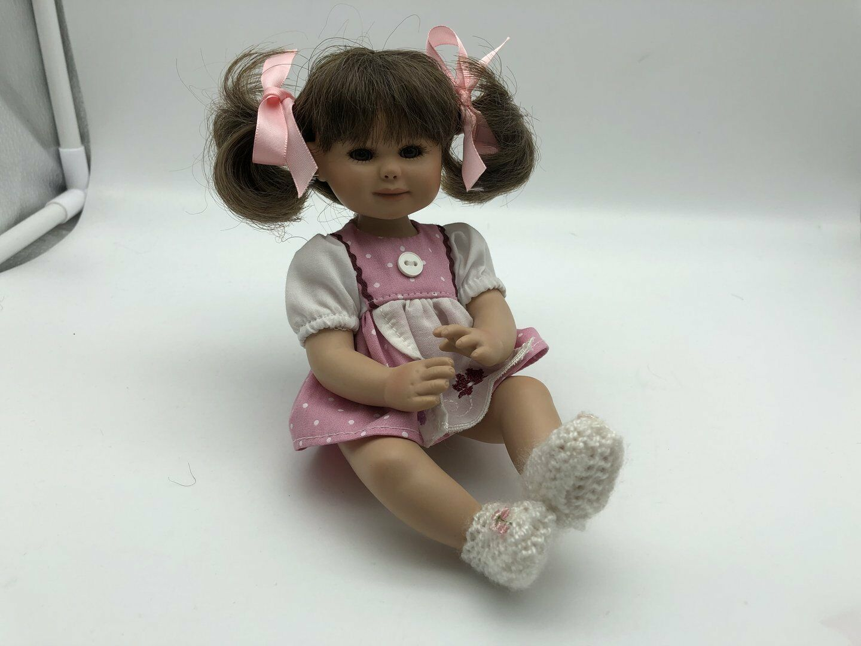 Gabriele Müller Porzellan Puppe 20 cm. Top Zustand
