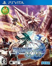 Phantasy Star Nova (Sony PlayStation Vita, 2014) - Japanese Version